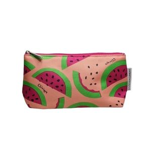 Clinique Skin Care & Makeup Samples Watermelon Bag